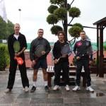 Finalisten Open Toernooi 2012 - Finalisten HD 8 2012 - David en Nelson van den Kolk vs Boudewijn Bult en Marc Lankveld