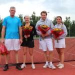 Finalisten Open Toernooi 2012 - Winnaars GD 6 2012 - Jim Schouwenaars en Bent Hemmes