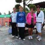 Finalisten Open Toernooi 2012 - Finalisten DD 7 2012 - Joke de Wild en Ida Willemse vs Angelique Loeve en Jacqueline de Visser