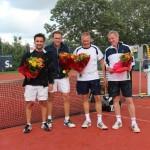 Finalisten Open Toernooi 2012 - Winnaars HD 7 2012 - Edward Goudriaan en Maurice van Tiggelen