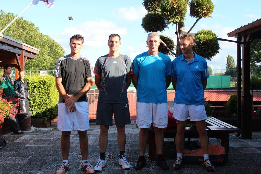 Finalisten Open Toernooi 2012 - Finalisten HD 6 2012 - Wilfred Brandt en Alex Hollemans vs Mike Bos en Carlo van Leest