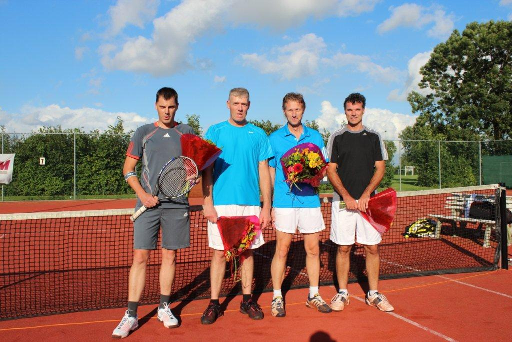 Finalisten Open Toernooi 2012 - Winnaars HD 6 2012 - Wilfred Brandt en Alex Hollemans