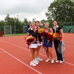 Finalisten Open Toernooi 2012 - Winnaars DD 8 2012 - Engeline Aarssen en Hadewych den Ridder