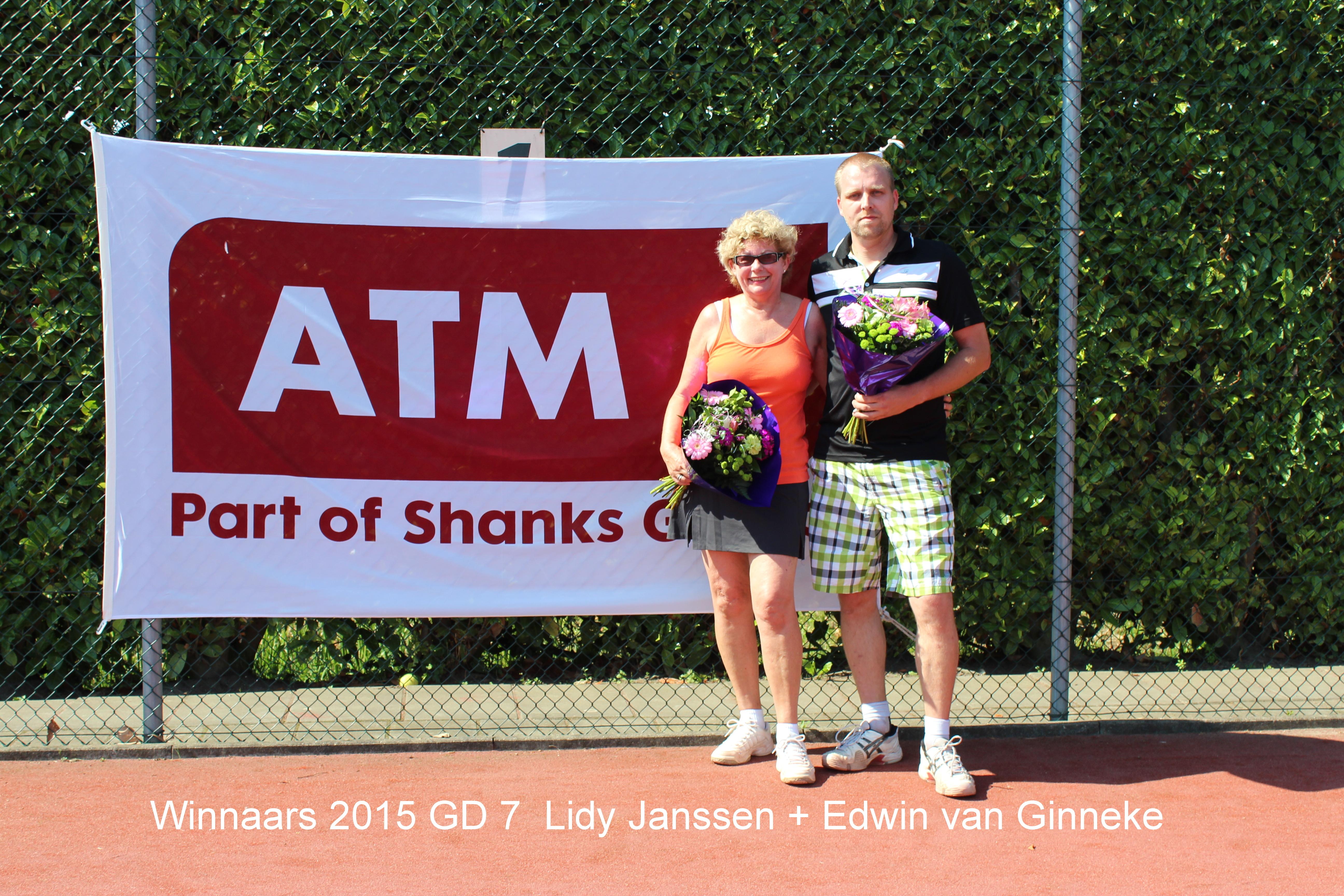 Winnaars 2015 GD 7